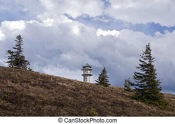 Feldberg mountain in the German Black Forest