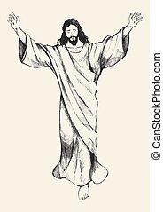 felemelkedés, jézus