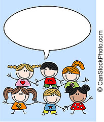 felfordulás etnikai, gyerekek, gyerekek