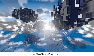 felhő, computing.