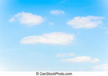 felhő, noha, ég, háttér