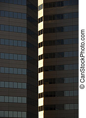 felhőkarcoló, épület.