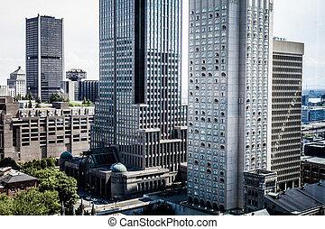 felhőkarcoló, montreal
