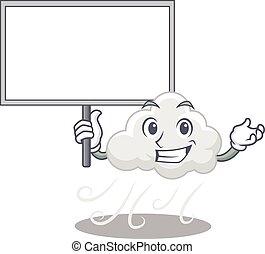 felhős, tervezés, szeles, hoz, kabala, bizottság, mód, ikon