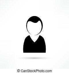 felhasználó, ikon
