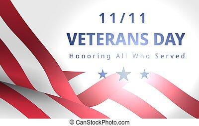 felice, 11, libero, novembre, giorno veterani