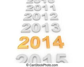 felice anno nuovo, 2014