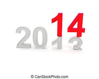 felice anno nuovo, 2014.