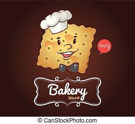 felice, cracker, faccia