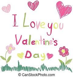 felice, giorno, valentine