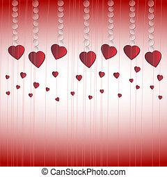 felice, giorno valentines, fondo.