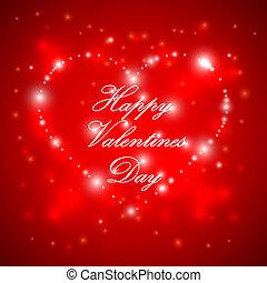 felice, giorno valentines, fondo