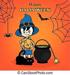 felice, halloween