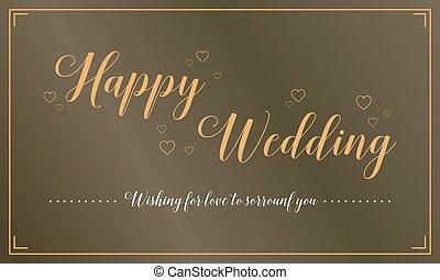 Auguri Felice Matrimonio : Biglietto auguri classico matrimonio dimensionegift