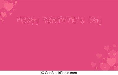 felice, sfondi, giorno, scheda, valentina