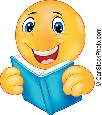 felice, smiley, emoticon, cartone animato, readi