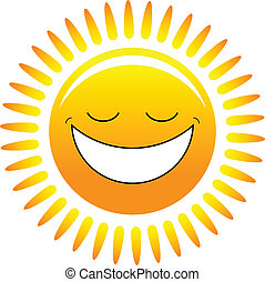 felice, sole