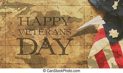 felice, veterani, day.