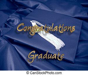 felicitaciones, graduado