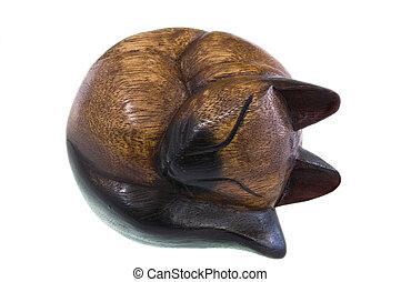 Feline Figurine