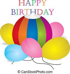 feliz aniversário, celebração