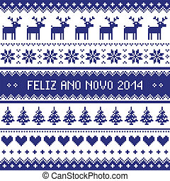 Feliz Ano Novo 2014 - protuguese