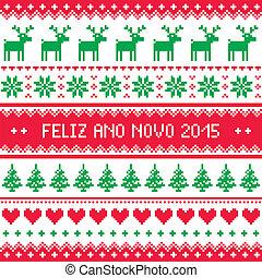 Feliz Ano Novo 2015 - Portuguese