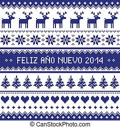 Feliz Ano Nuevo 2014 - spanish happ