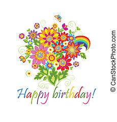 feliz, birthday!