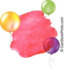 feliz cumpleaños, bandera