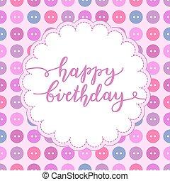 feliz cumpleaños, letras