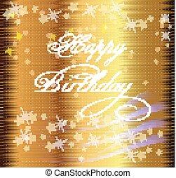 feliz cumpleaños, señal, diseño