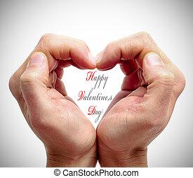 feliz, día de valentines