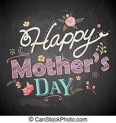 feliz, día madres