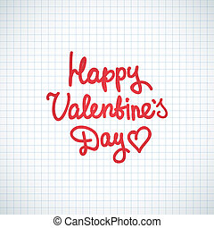 feliz, día, valentino