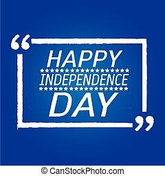 feliz, desenho, dia, ilustração, independência