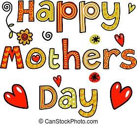 feliz, dia mães, texto
