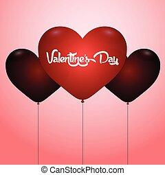 feliz, dia, valentine