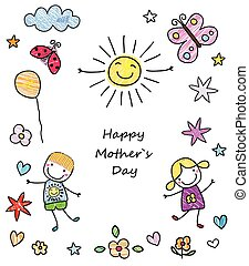feliz, el día de la madre