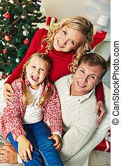 feliz, eva, navidad