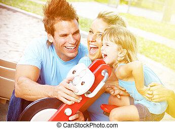 feliz, family.