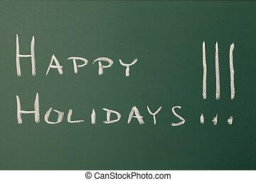 feliz, feriados