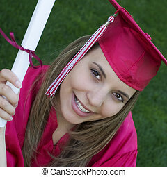 feliz, graduado