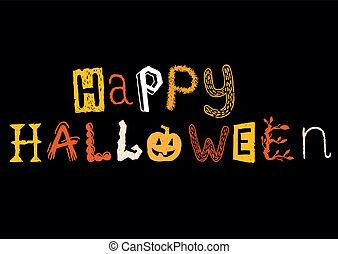 feliz, halloween