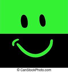 feliz, icono