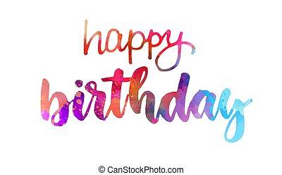 feliz, letras, cumpleaños