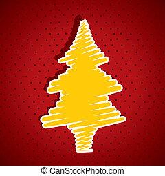 feliz natal, árvore