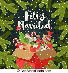 Feliz Navidad Cristmas.Feliz Navidad Stock Illustrations 1 160 Feliz Navidad Clip