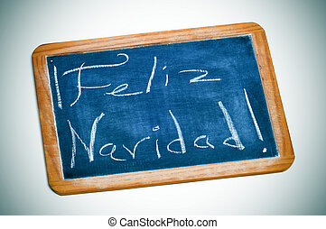 feliz navidad, merry christmas in spanish