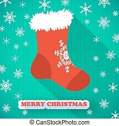 feliz navidad, postal